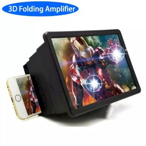 Universal Folding Portable 3D Video Enlarge Smartphone Screen Magnifier Amplifier for Huawei Iphone Samsung